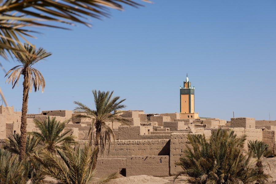Ksar près de Rissani au Maroc