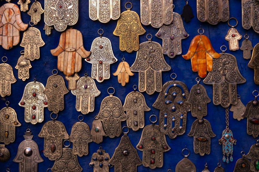 Mains de fatma à Marrakech
