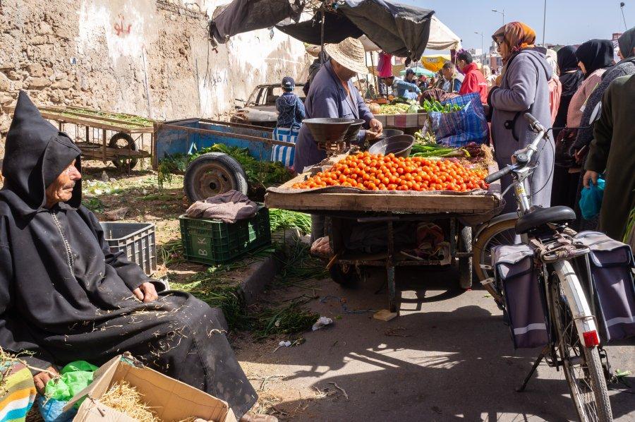 Marché du dimanche à Essaouira