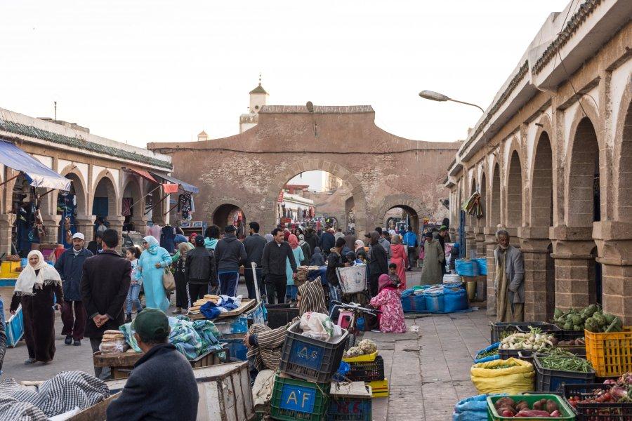 Marché aux légumes d'Essaouira