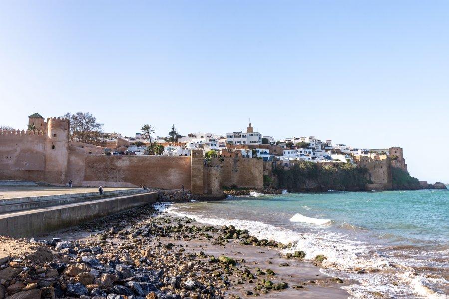Remparts autour de la médina de Rabat, Maroc