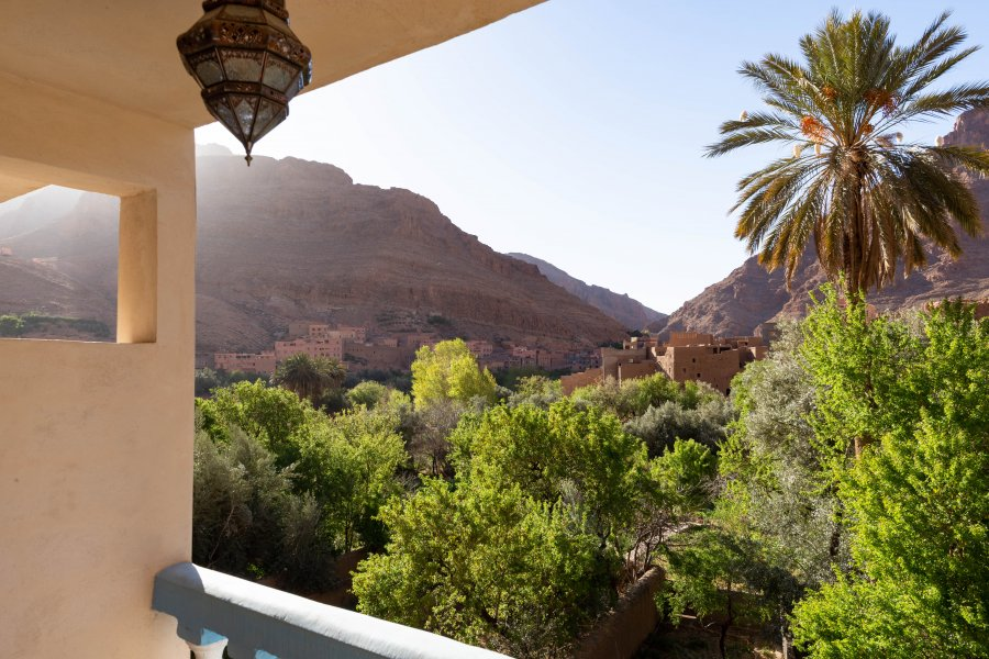Montagne à Tinghir, Maroc
