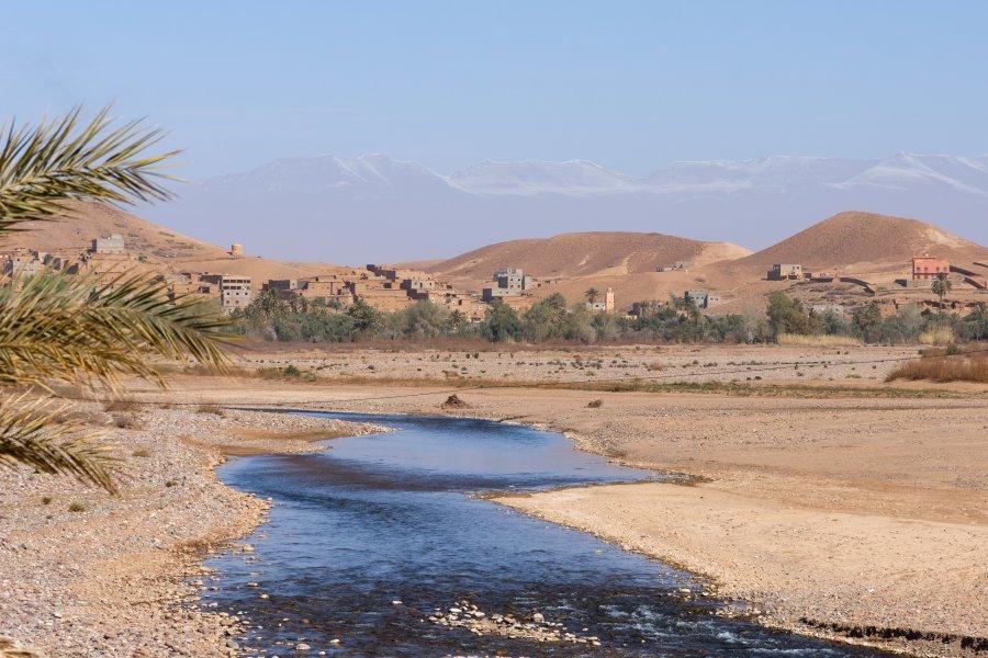 Oasis de Sidi Flah au Maroc