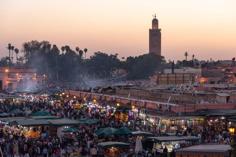 Place Jema el Fnaa à Marrakech