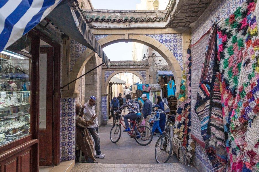 Quartier des bijoutiers à Essaouira