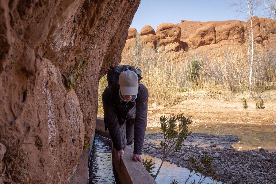 Randonnée dans les gorges de Dadès, Maroc