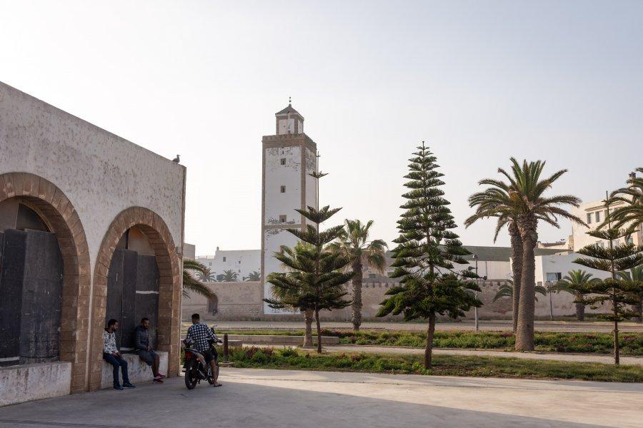 Extérieur des remparts d'Essaouira