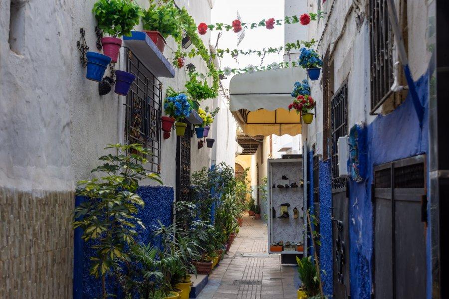 Ruelle de la médina de Rabat