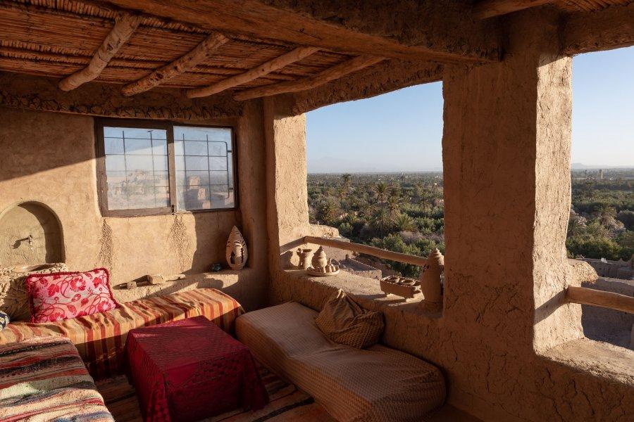 Maison berbère traditionnelle à Skoura