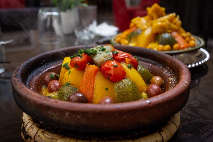 Tajine aux légumes, Maroc