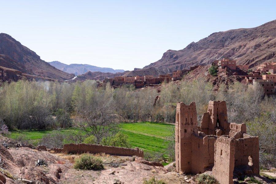 Randonnée à Tamellalt, Dadès, Maroc