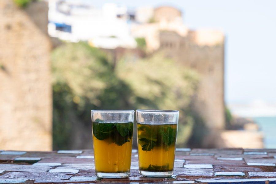 Thés à la menthe marocains