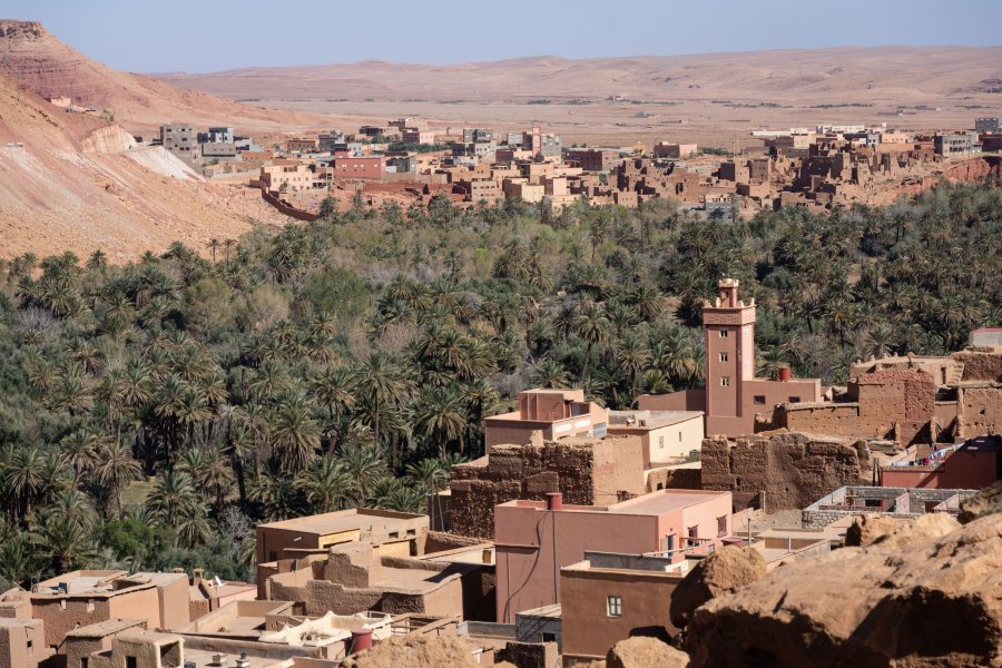Tinghir et Todgha, montagnes du Maroc