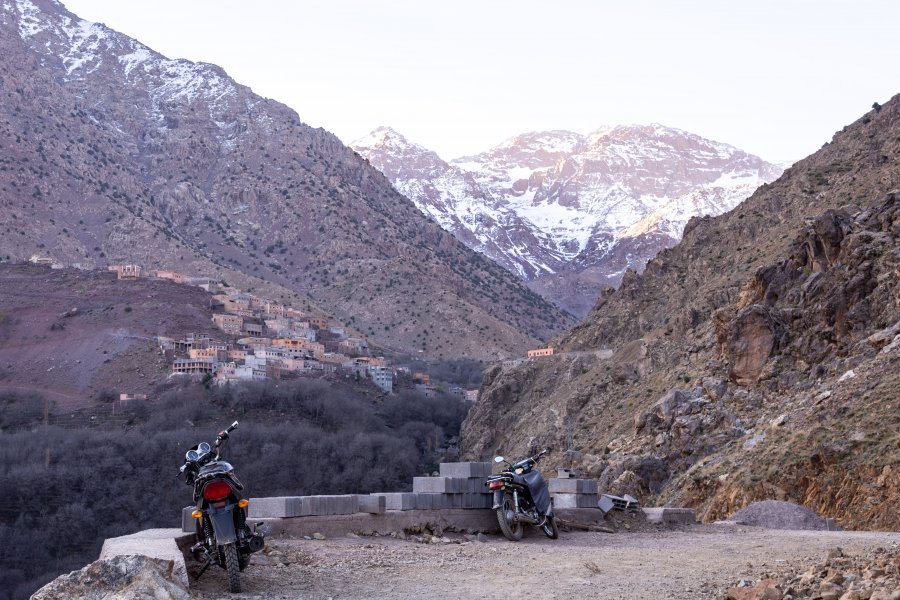 Mont Toubkal au Maroc