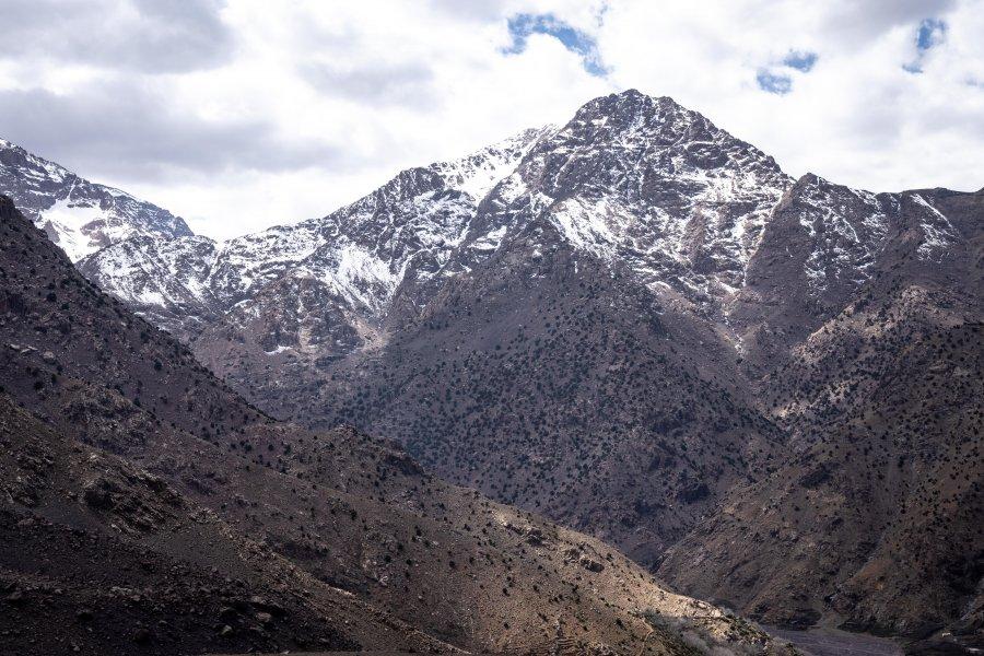 Montagne du Toubkal au Maroc