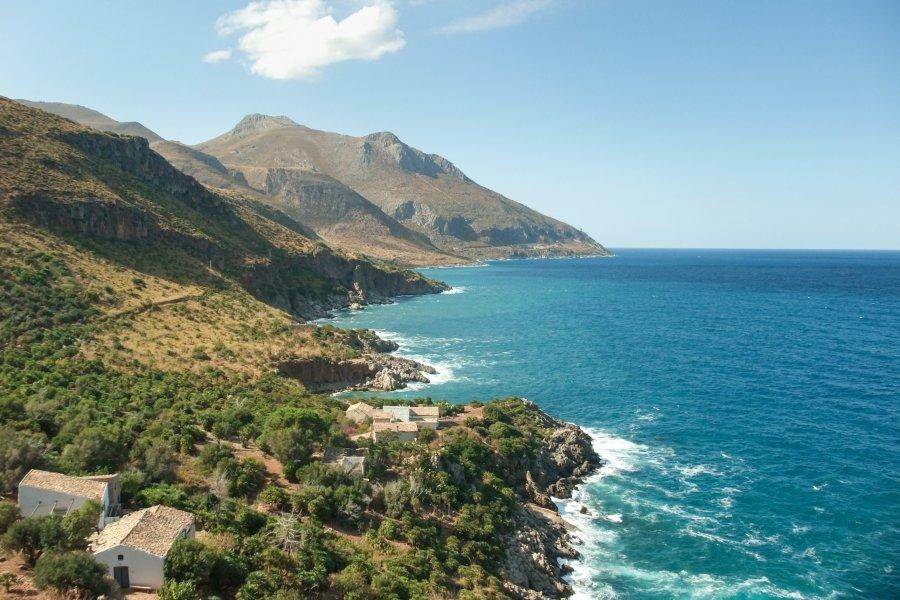 Réserve naturelle de Zingaro en Sicile