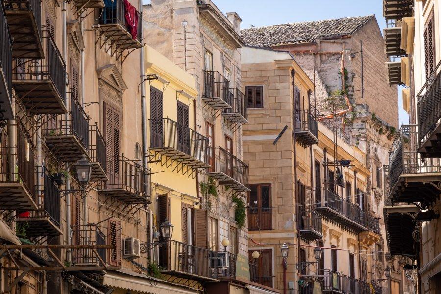Architecture de Palerme en Sicile