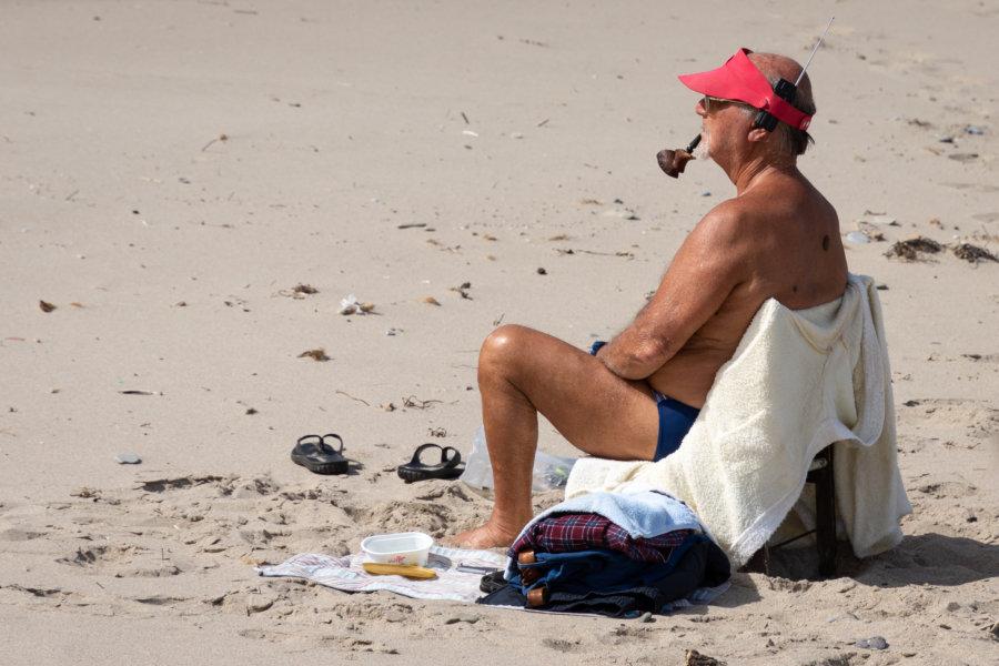 Bronzette sur la plage de Cefalù