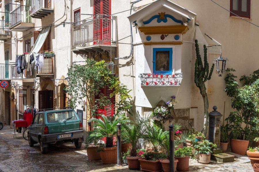 Ruelle de Cefalù en Sicile
