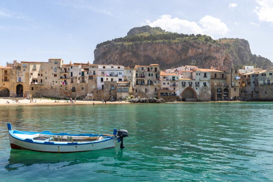 Cefalù et son rocher, Sicile
