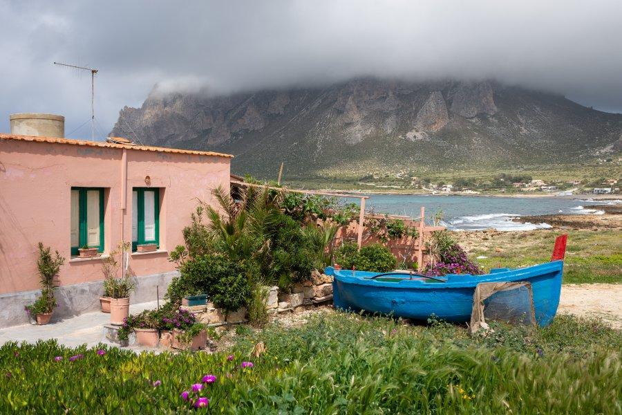 Cornino et le Monte Cofano en Sicile