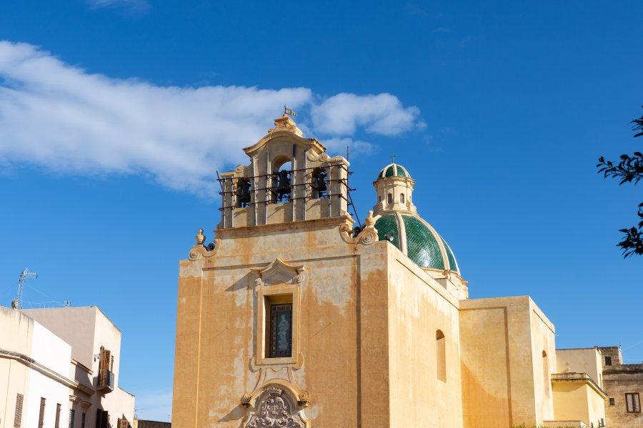 Église de Favignana, Sicile