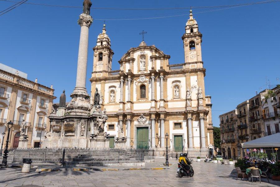 Eglise San Domenico à Palerme
