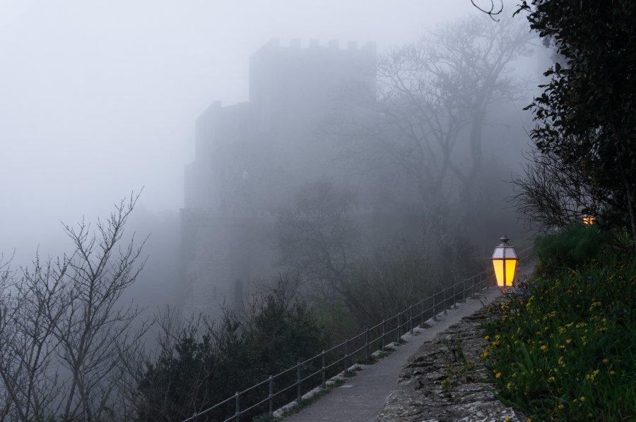 Le château d'Erice en Sicile