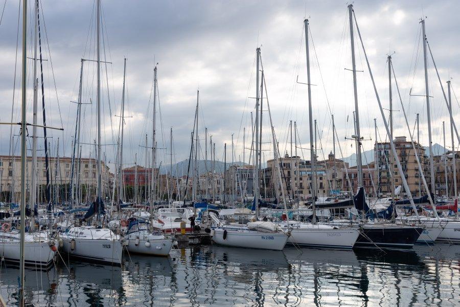 Port de plaisance de Palerme