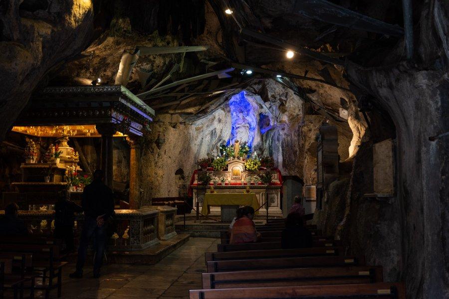 Sanctuaire de Santa Rosalia à Palerme