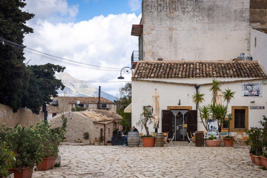 Village sicilien de Scopello