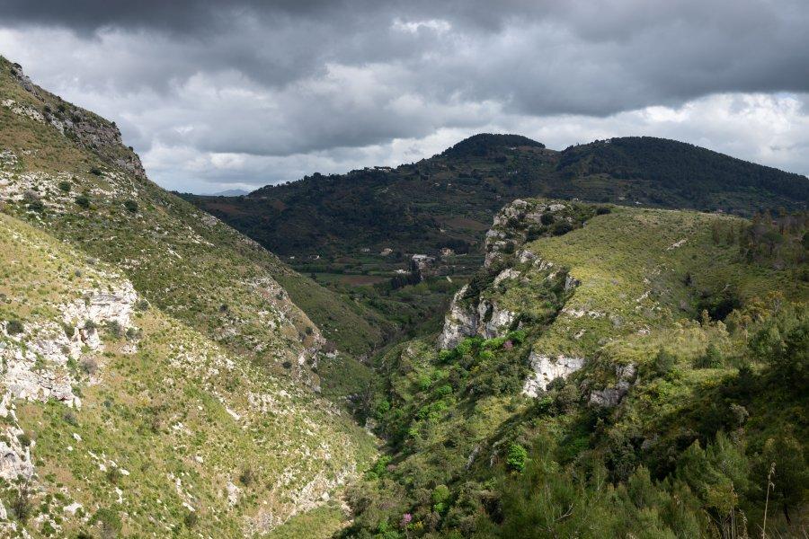 Paysage autour de Segesta, Sicile