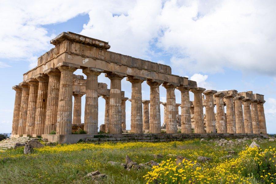 Temple grec de Selinunte, Sicile