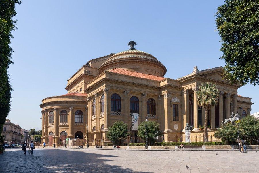 Théâtre Massimo à Palerme