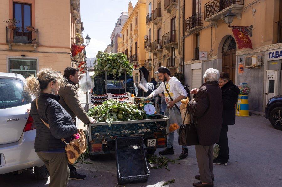 Vie sicilienne à Trapani