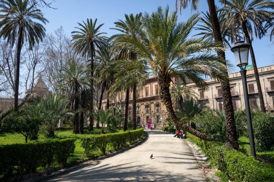 Villa Bonanno, jardin de Palerme
