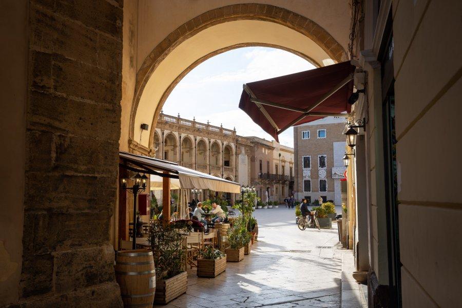 Ville de Mazara del Vallo en Sicile