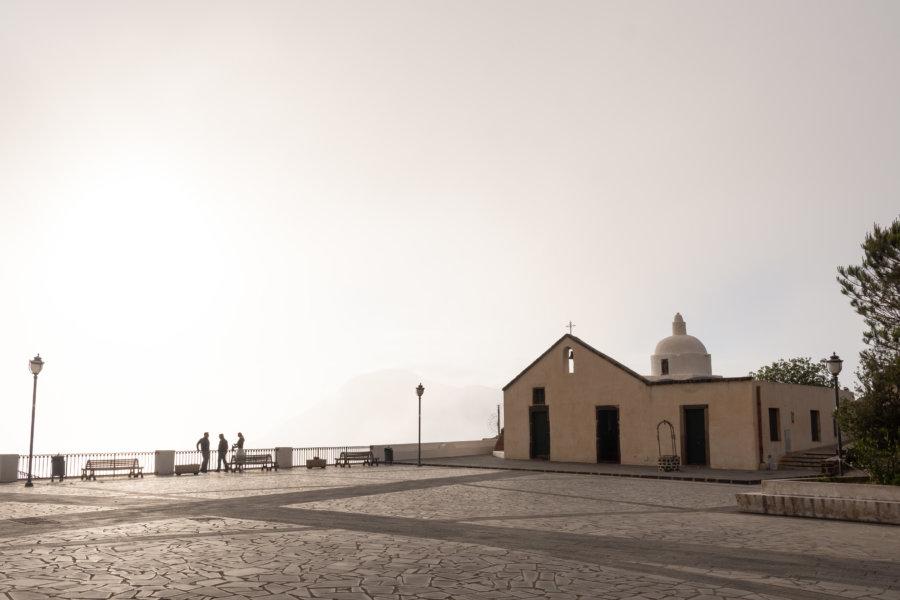 Église de Quattropani, Île de Lipari, Sicile