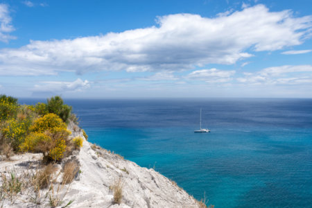 Îles Éoliennes, bateau et Méditerranée