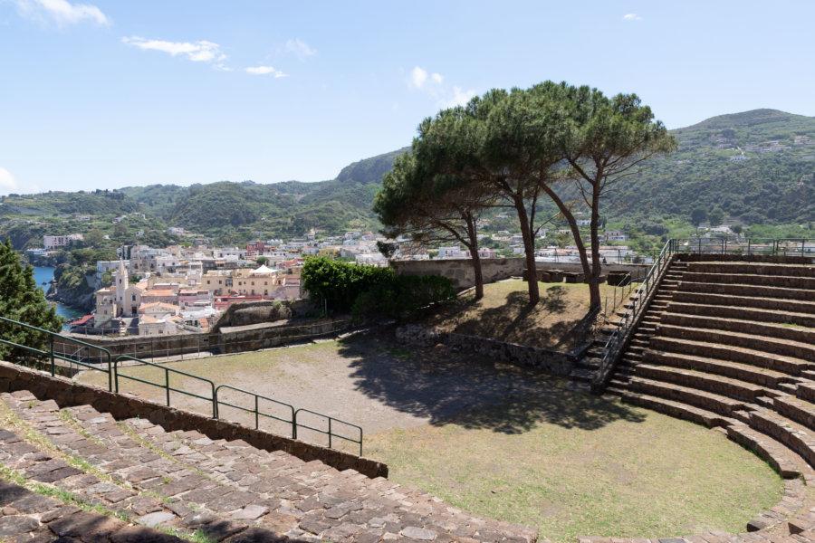 Amphithéâtre de l'île de Lipari, Sicile