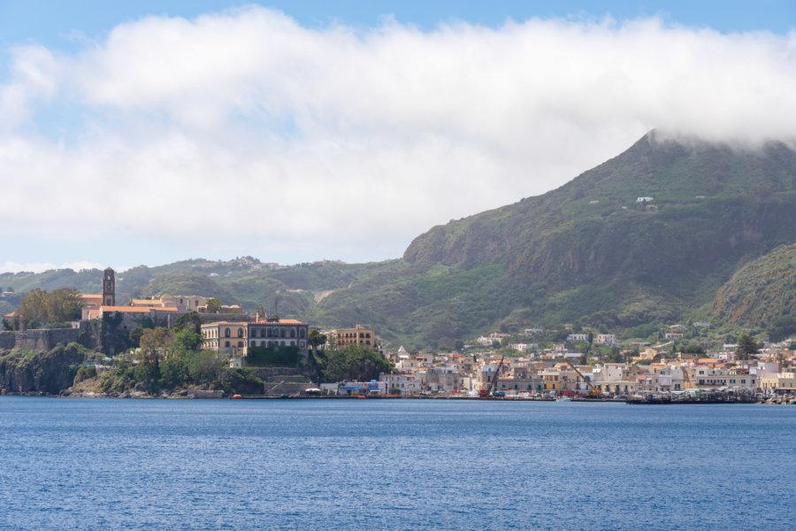 Île éolienne de Lipari, Sicile, Italie