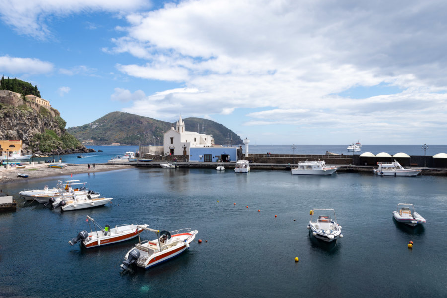 Marina de Lipari, Îles éoliennes, Sicile