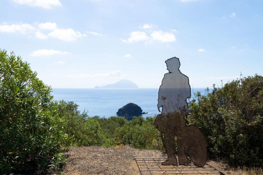 Postino, Facteur, Pollara, Île de Salina
