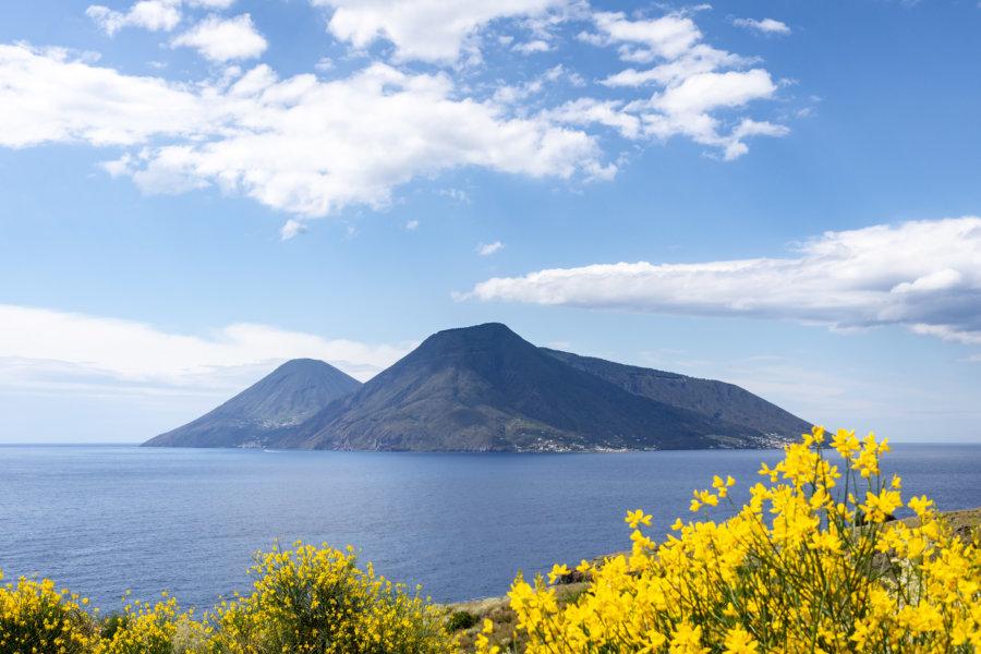 Île de Salina, îles éoliennes, Sicile