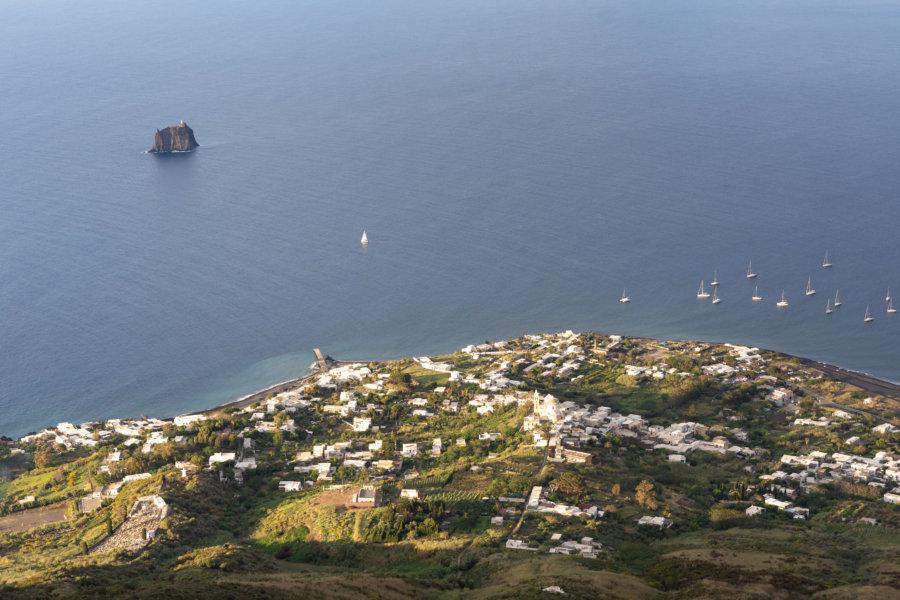 Stromboli, îles éoliennes, Sicile