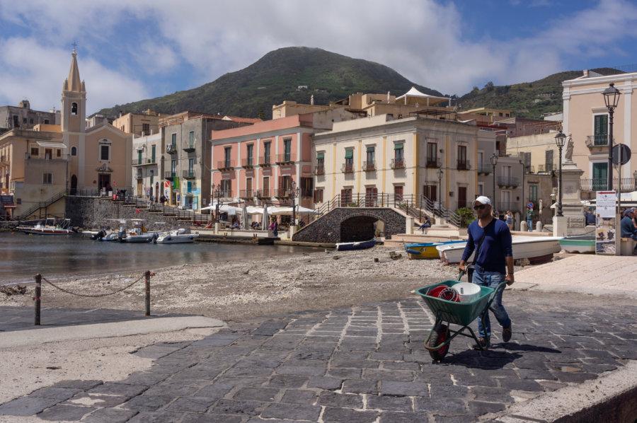 Ville de Lipari, Sicile