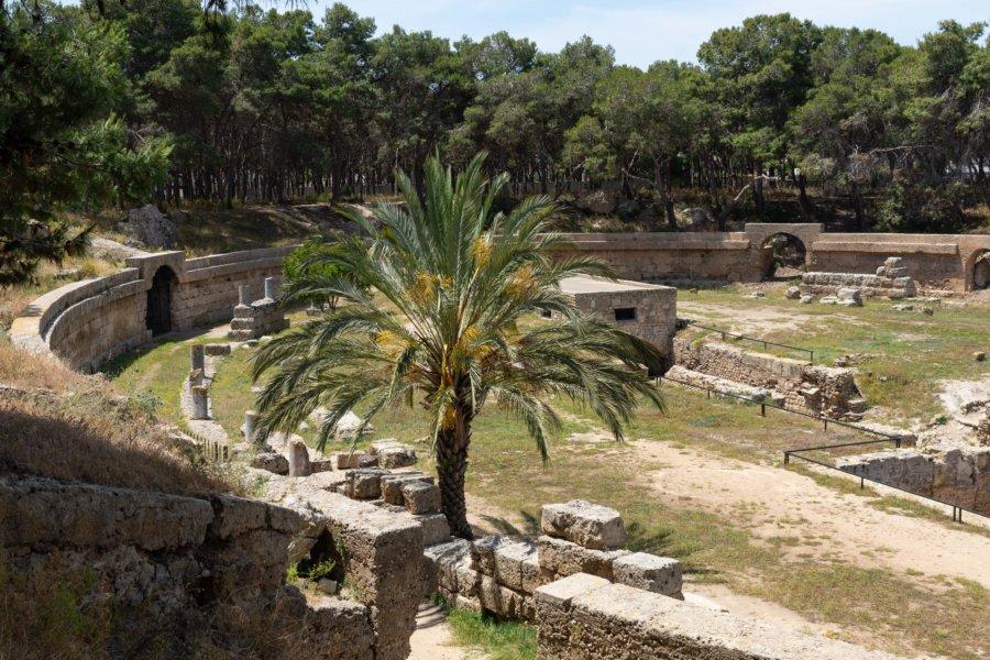 Amphithéâtre romain de Carthage