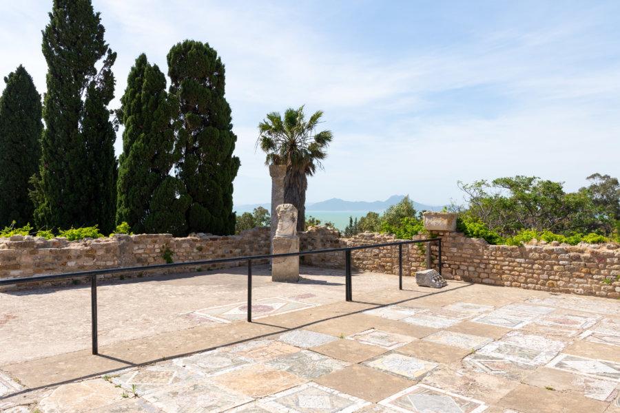 Villas romaines à Carthage, Tunis
