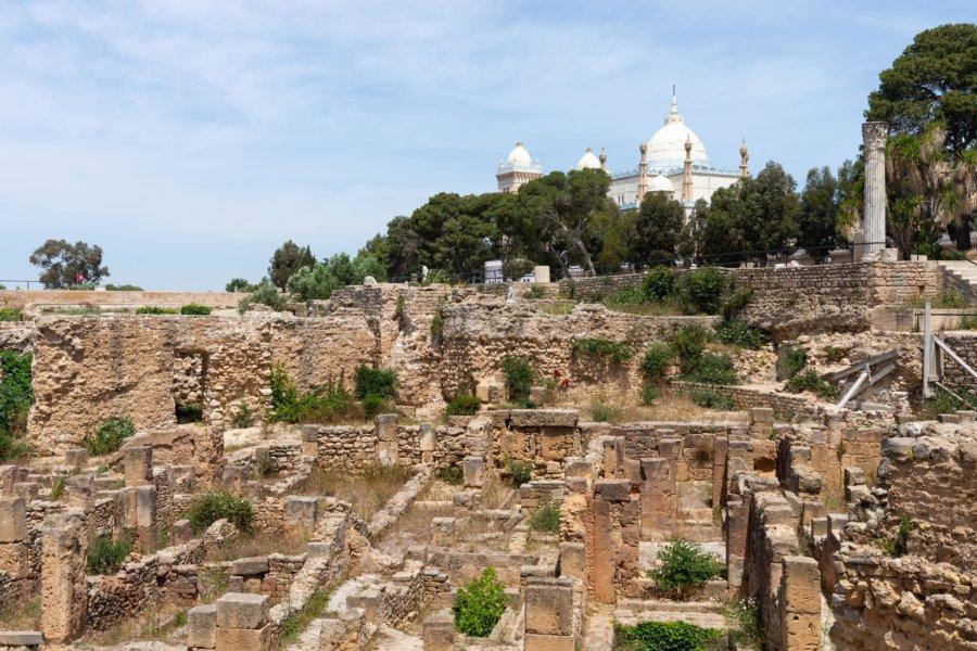 Cathédrale Saint-Louis de Carthage, Tunisie