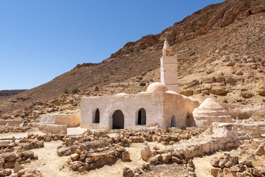 Mosquée des sept dormants, Chenini, Tunisie